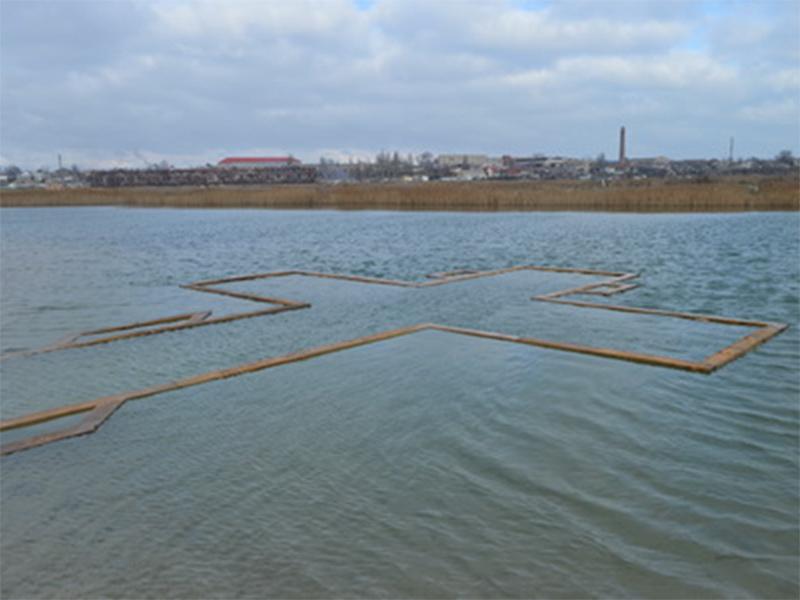 На Херсонщині Хрещення Господнє відсвяткували і на Азовському морі