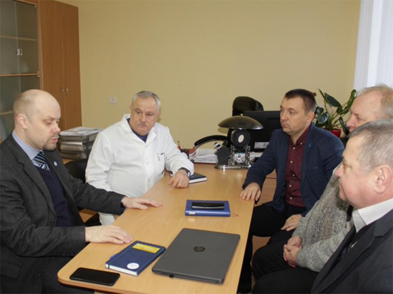 В Олешківській лікарні до контрактування готові