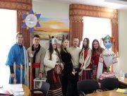 Херсонский горсовет посетили участники молодёжного благотворительного проекта
