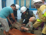 Пожарные Херсонщины спасли мужчину