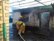 На Херсонщине на пожаре дома нашли тело погибшего мужчины