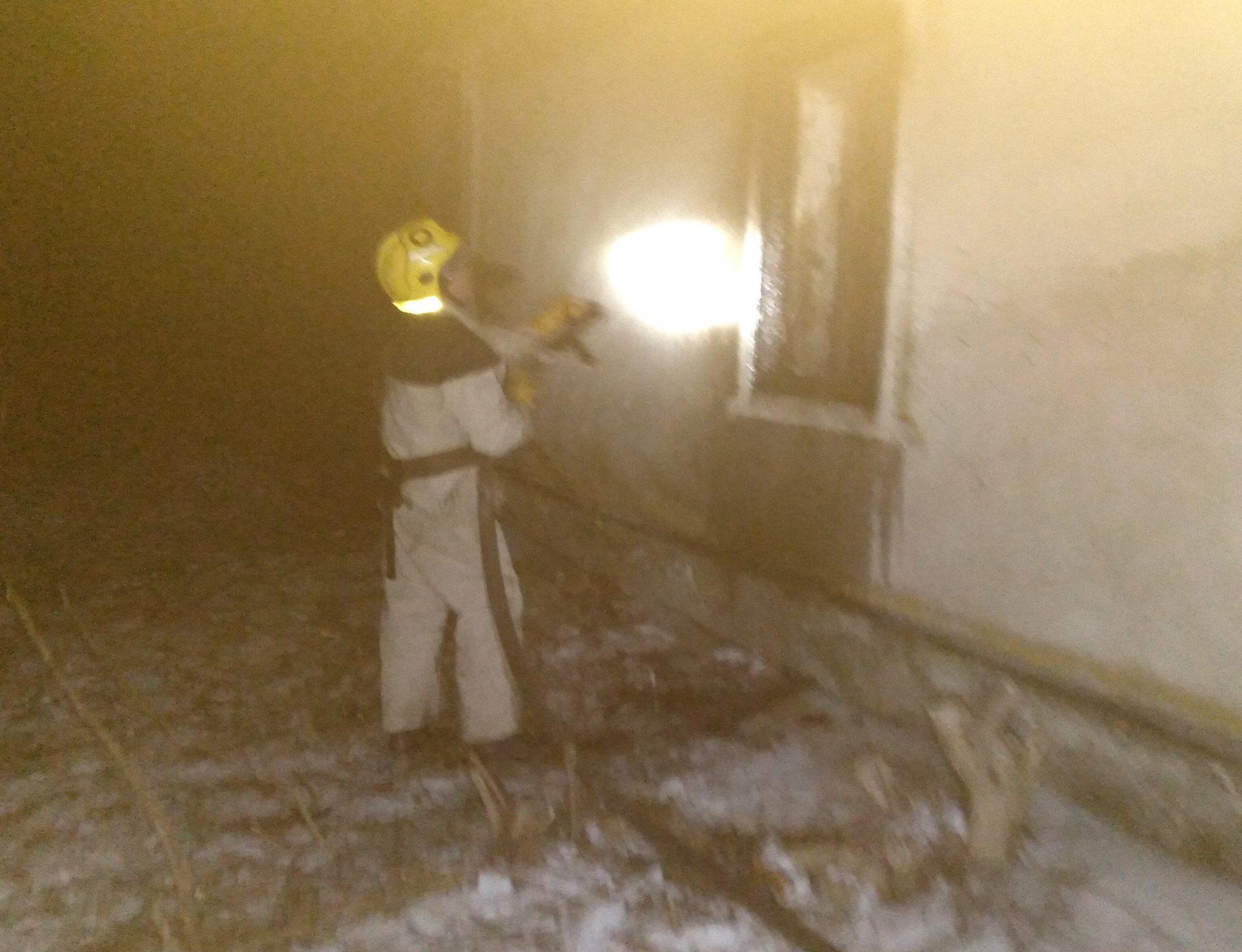 На Херсонщине из-за неисправной печки загорелся жилой дом