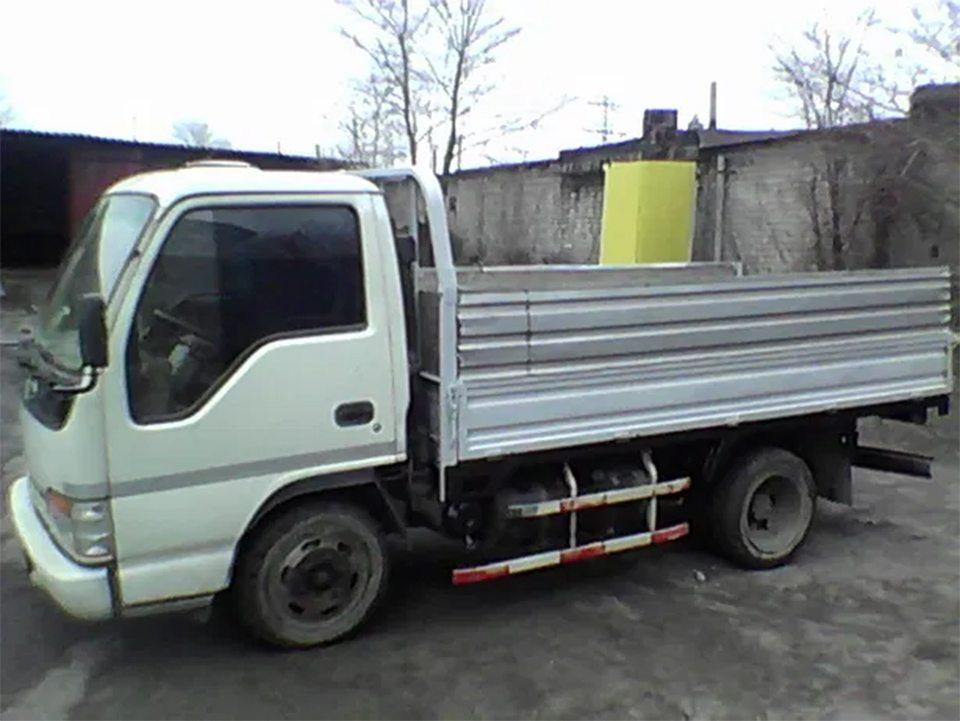 дача, грузовик, кража