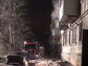 В Херсоне мужчину спасли из горящей квартиры