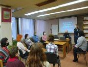 В херсонской библиотеке прошла лекция по защите от мошенничества
