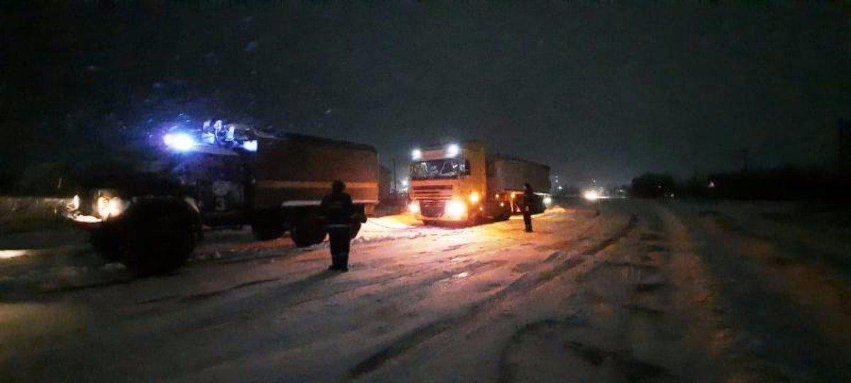 Нововоронцовский район,снежные заносы,спасатели