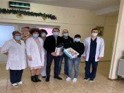 Черговий подарунок хворим діткам від благодійників