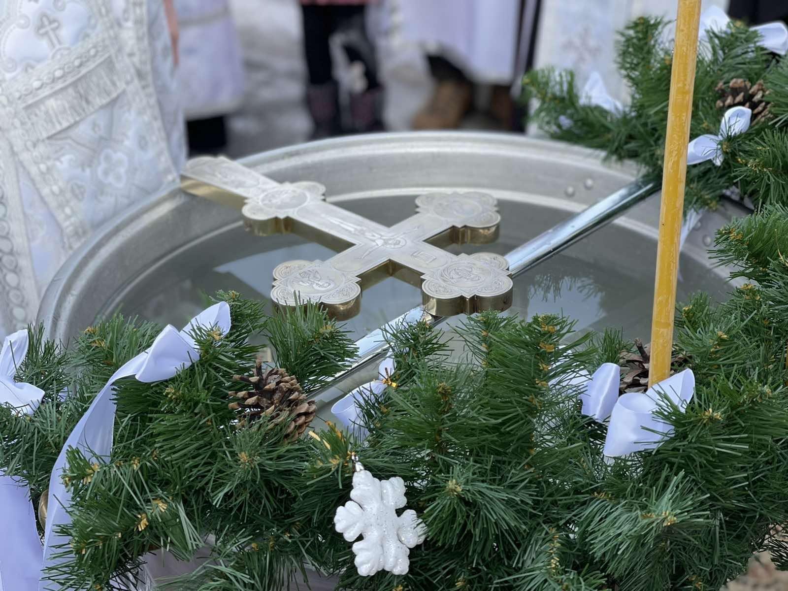 Праздник Крещения Господня в Херсоне