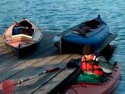 Зимове веслування у Херсоні