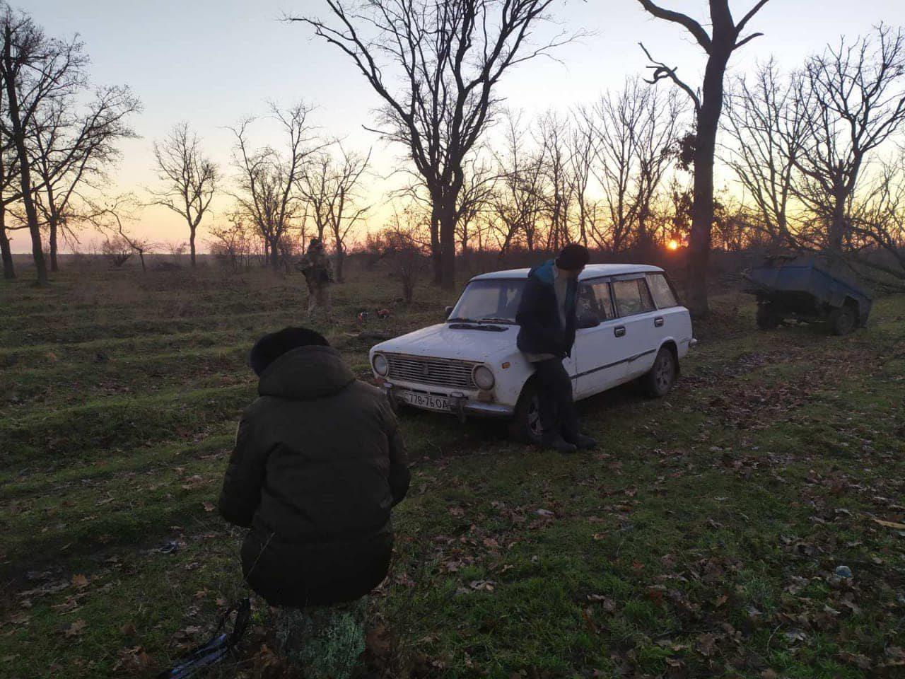 На Херсонщине в национальном парке поймали лесника-браконьера