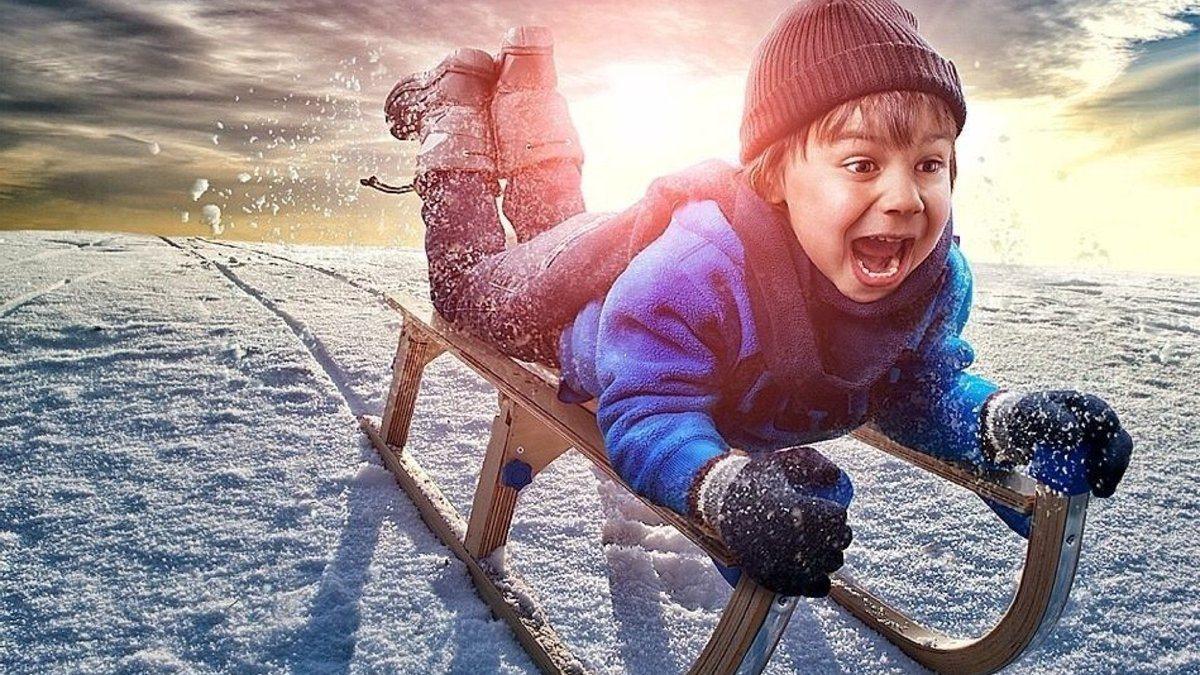 На Херсонщине после снежных забав дети попадают в больницы