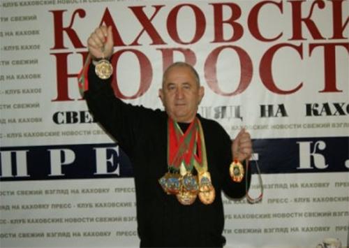 Каховчанин стал 16-кратным чемпионом мира