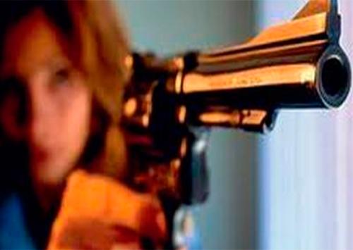 На Херсонщине мать спрятала пистолет в пеленках своего малыша