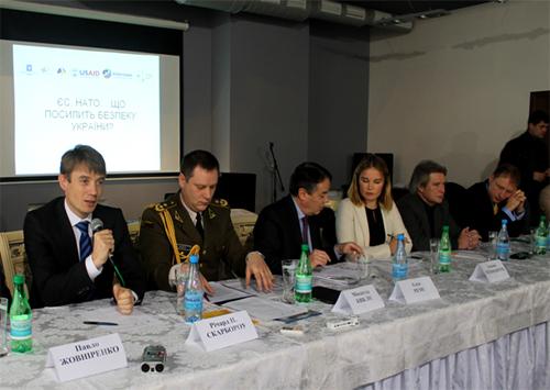 Херсонцы узнавали, что поможет усилить безопасность Украины