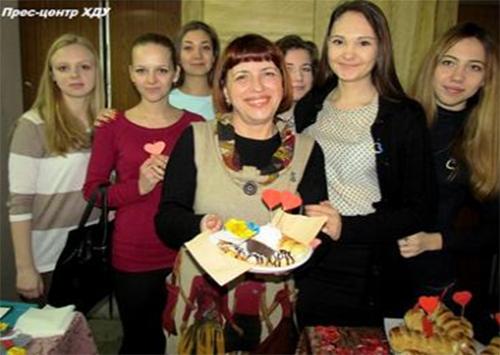 Студенти ХДУ підтримали дітей-переселенців з Донецької та Луганської областей
