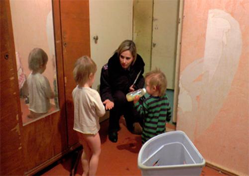 Херсонська міліція працює з неблагополучними родинами