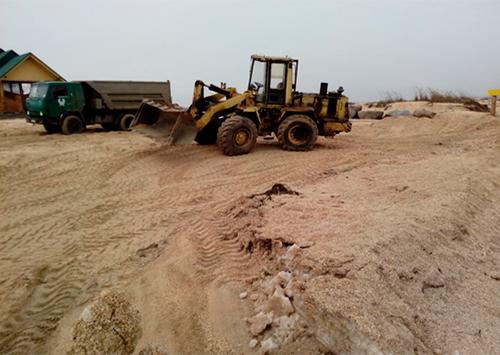 В Геническом районе Херсонщины продолжат воровать песок