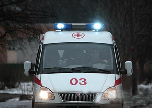 Скадовські рятувальники відбуксирували автомобіль швидкої допомоги