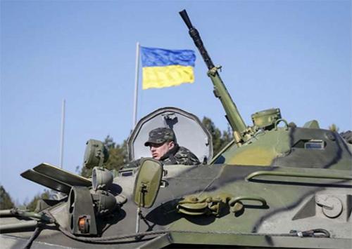 На территории Генического района увеличилось количество военнослужащих и военной техники