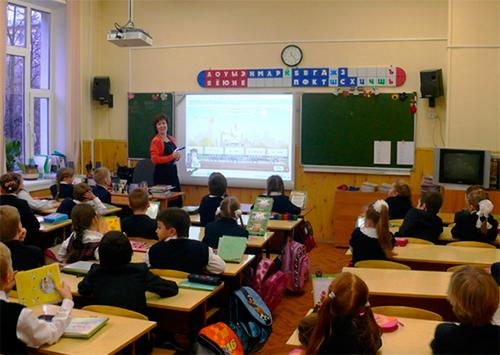 Сельские школы Херсонщины  получают мультимедийное оборудование