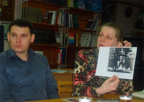 Посетители библиотеки им. О. Гончара узнали больше о семье Скадовских
