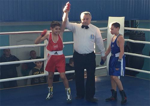 В Херсоне прошел чемпионат области по боксу среди школьников