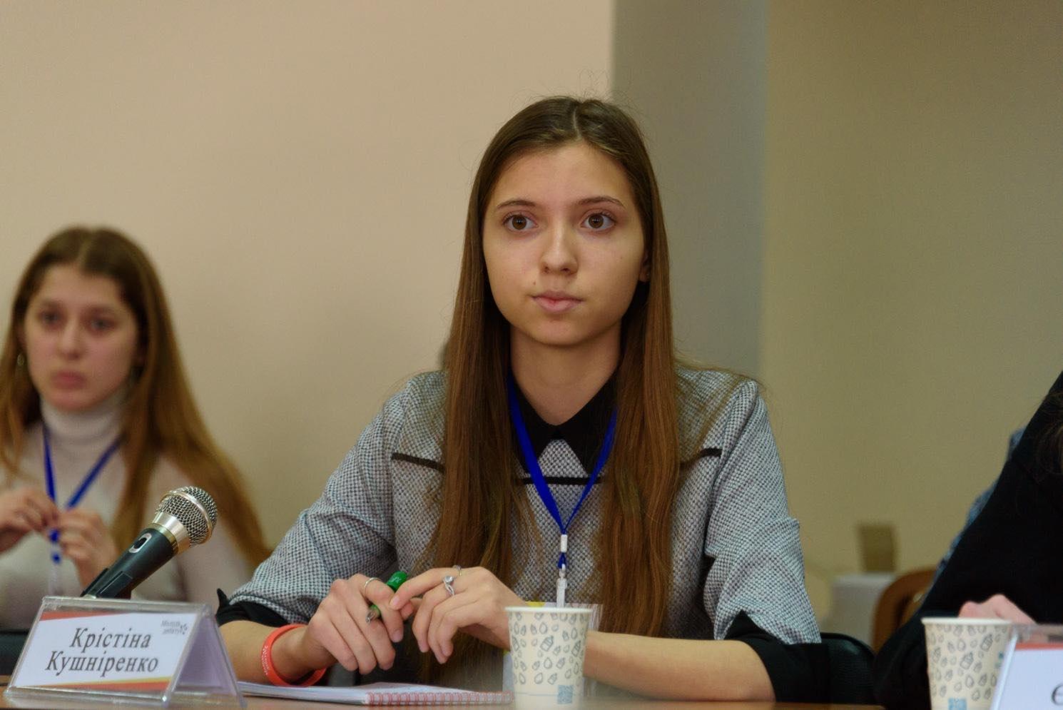 Школьница из Херсона стала суперфиналисткой национального проекта «Молодь дебатує»
