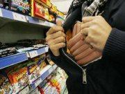 Херсонские супермаркеты воры одолевает