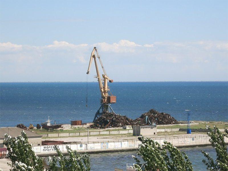 Скадовский порт уйдёт с молотка