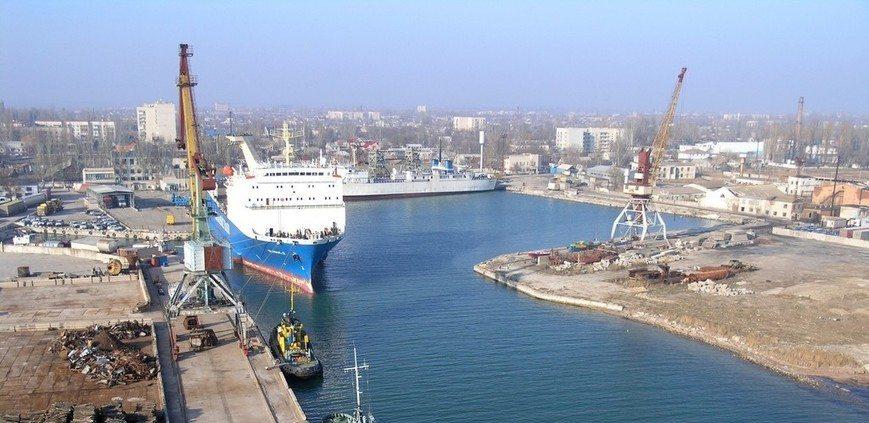 Скадовський порт потопає у судах