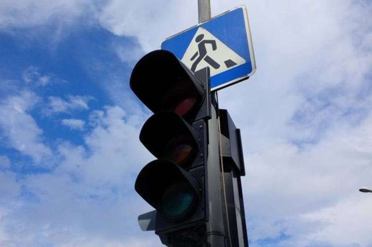 Херсон,светофор,ремонт