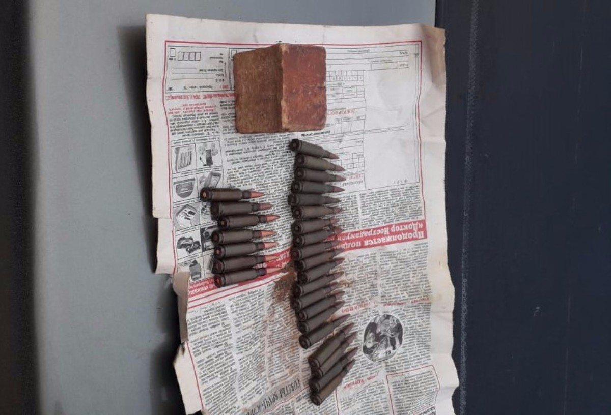 Великая Лепетиха,Чаплинка,патроны,взрывчатка