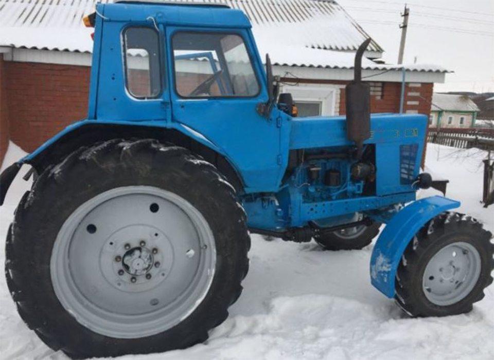 трактор, пенсионерка, авария