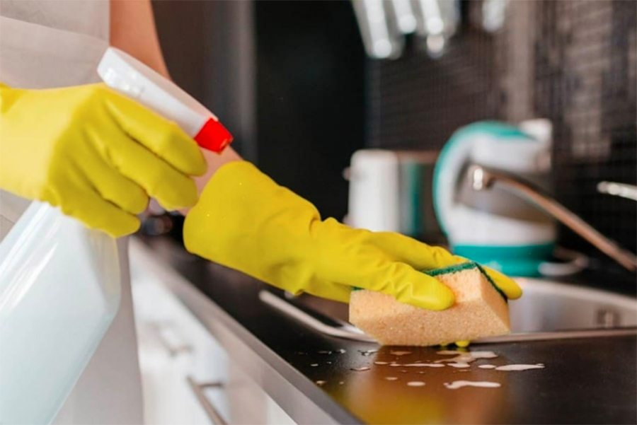 идеальная чистота, порядок на кухне
