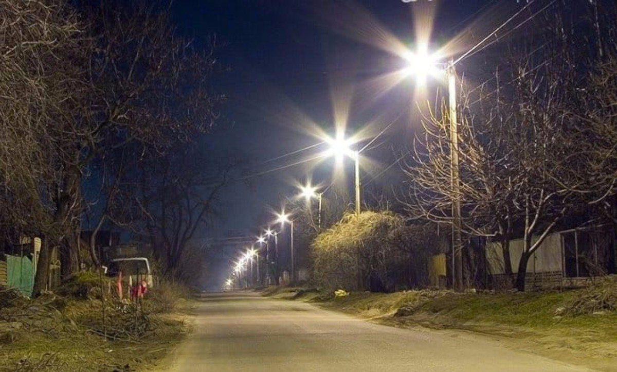 Новотроицкое,уличное освещение,сельсовет