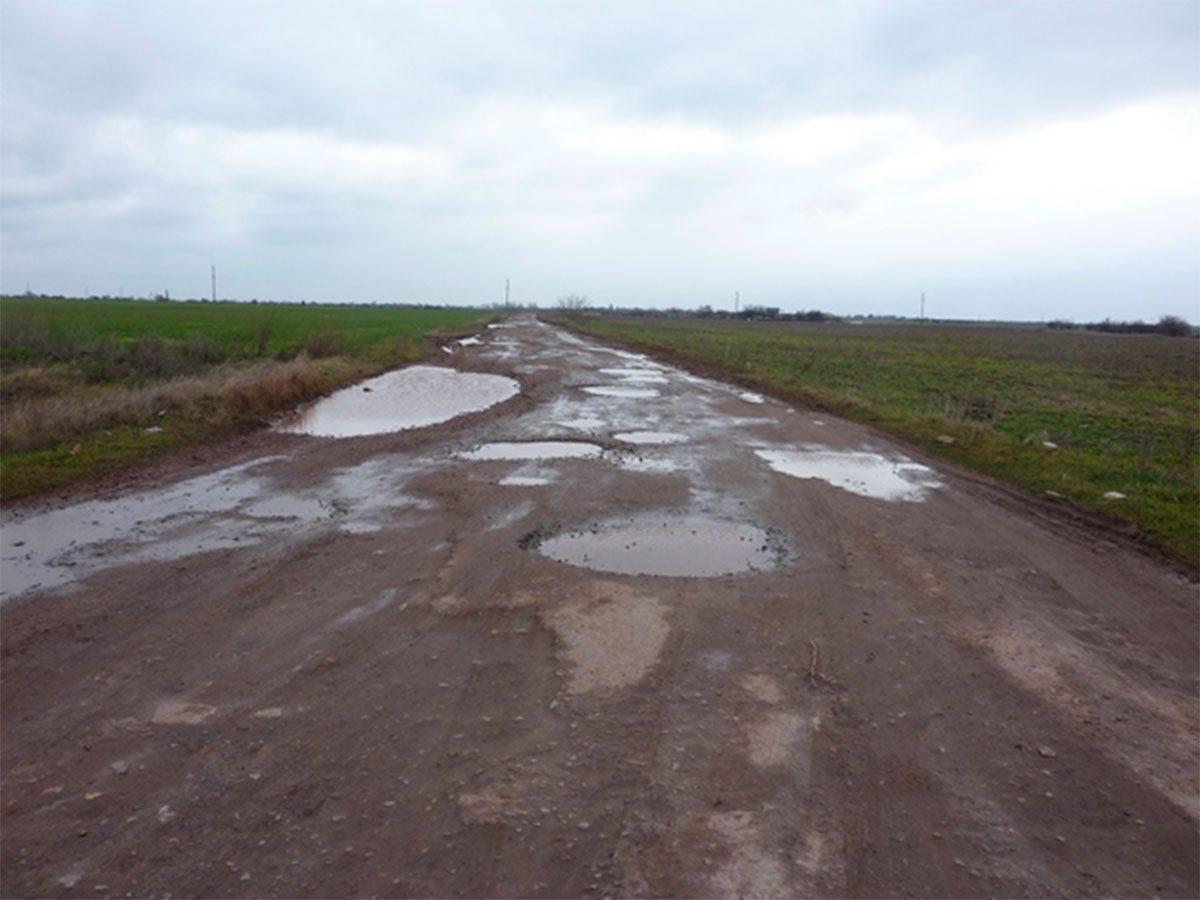 На Херсонщине дороги стали опасными ловушками