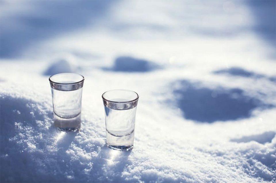 пьянство, мороз, больница
