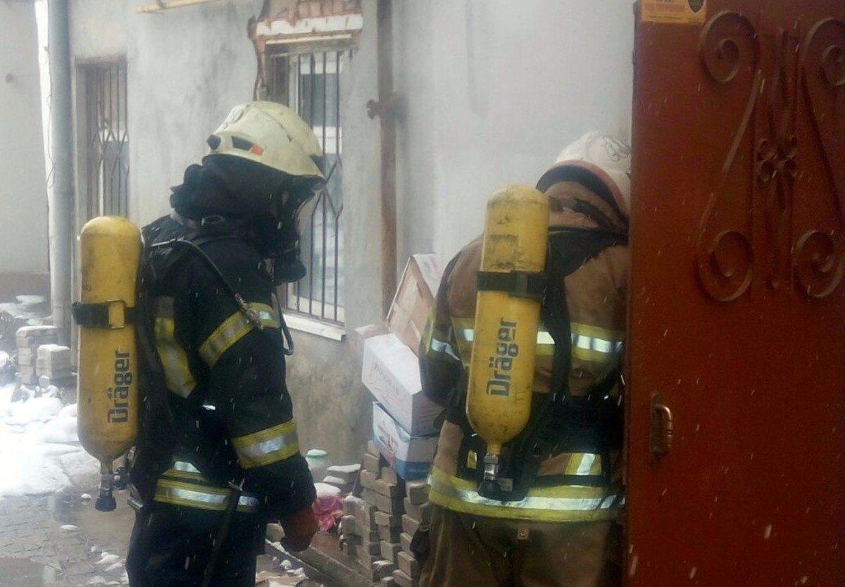 Херсон,пожар дома,спасатели