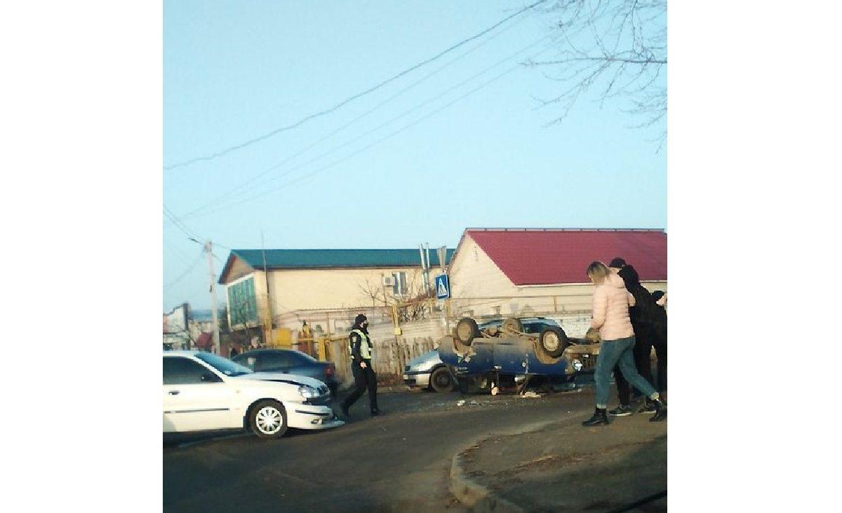авария, полиция, перекресток