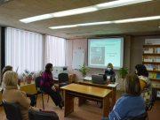 В херсонской библиотеке прошла заседание клуба любителей украинского языка