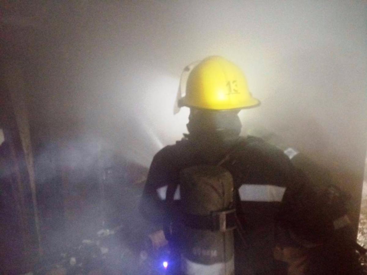 Каховский район,пожар,курение
