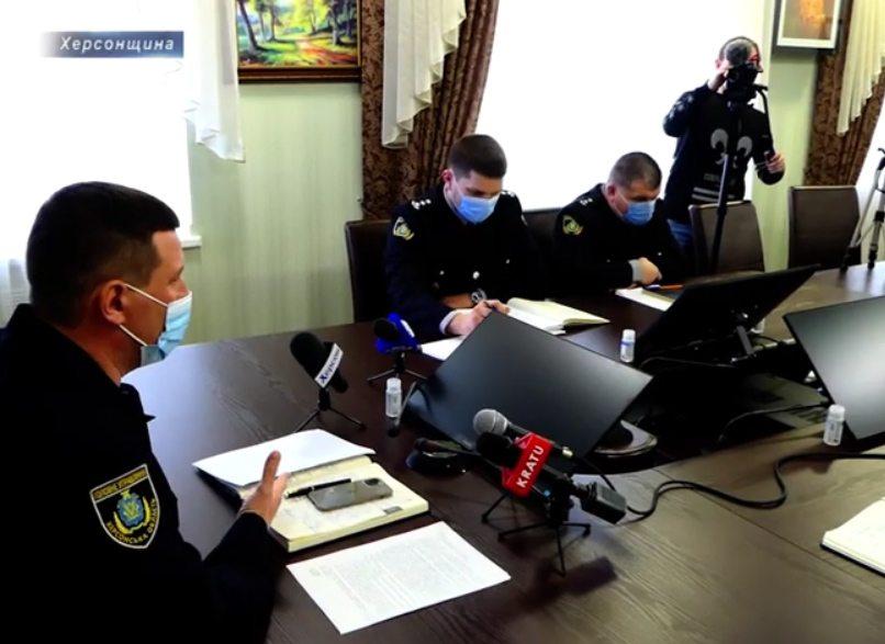 Поліція Херсонщини звітує за попередній рік роботи