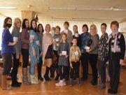 В херсонской библиотеке многодетным семьям вручали подарочные сертификаты