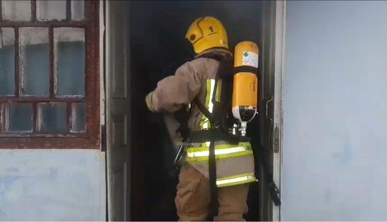 Берислав,пожар дома,гибель на пожаре