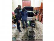 Украинец вез 20 килограммов наркотиков в оккупированный Крым (видео)