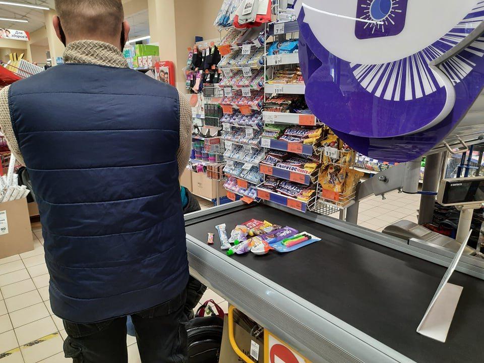 У Херсоні в супермаркеті спіймали ласунку