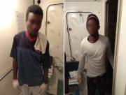 Херсонские пограничники задержали двух нелегалов из Африки