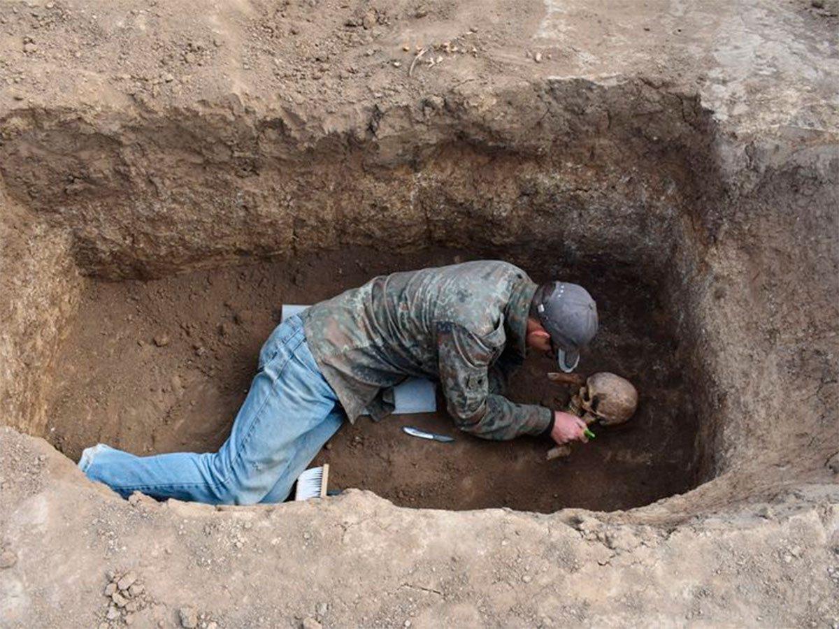 Археологические раскопки в Геническом районе Херсонщины