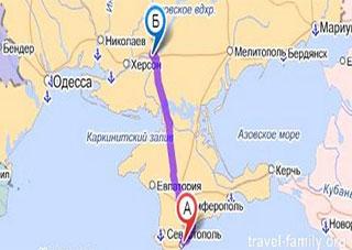 Крым – Херсон. Война или мир?