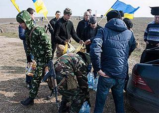 Каховчани підтримують українських солдат